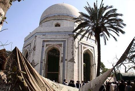 The Shrine to Rahman Baba