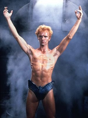 Sting in his underwear - HeadStuff.org