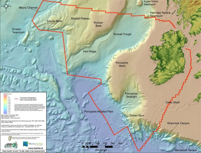 The Real Map of Ireland - HeadStuff.org