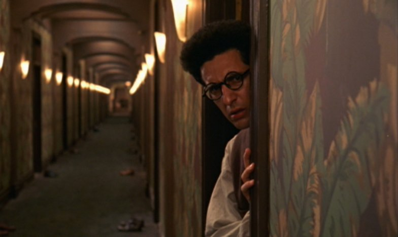 Barton Fink (Turturro) in the Hotel Earle - HeadStuff.org