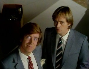 Andrew Collings and David McCallum as Silver and Steel - headstuff.org