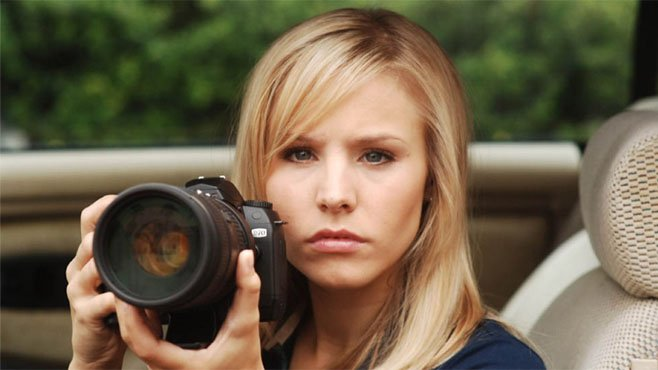 Veronica Mars played by Kristen Bell - HeadStuff.org