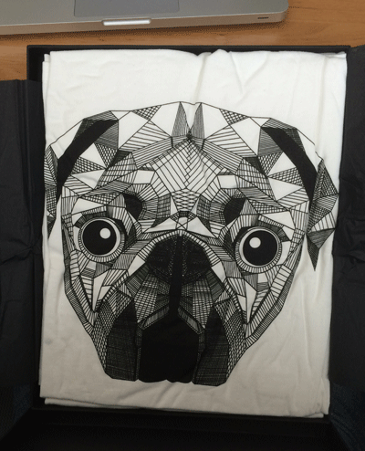 24Tees, 24 tees, t-shirt subscription box, monthly, nice design, dog - HeadStuff.org