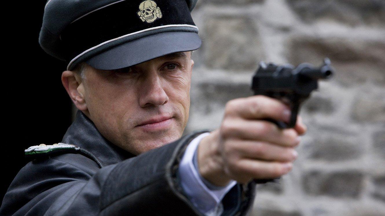 Christopher Waltz (Col. Hans Landa) stars in Quentin Tarantino's INGLOURIOUS BASTERDS. - HeadStuff.org