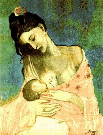 Breastfeeding Picasso - HeadStuff.org