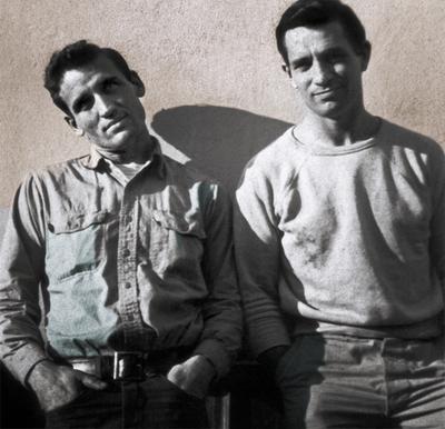 Kerouac and Neal Cassady
