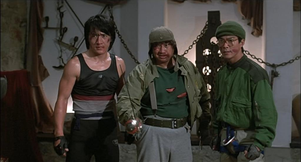 Jackie Chan, Yuen Biao and Sammu Hung in Wheels on Meals vi martialartsactionmovies.com