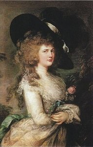 Lady Georgina Cavendish by Thomas Gainsborough - headstuff.org