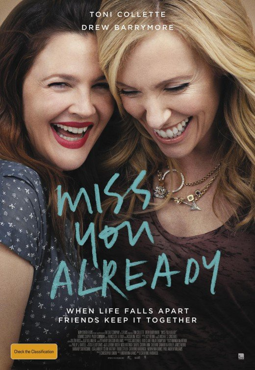 Toni Collette and Drew Barrymore in Miss You Already - HeadStuff.org