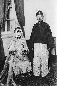Yoshiko Kawashima's wedding. - headstuff.org
