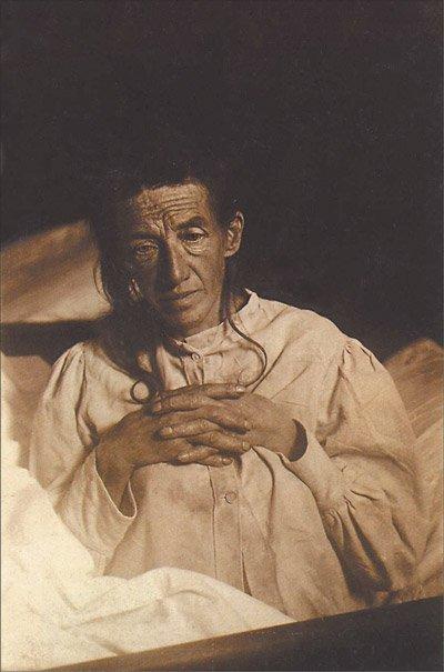Auguste Deter in 1901