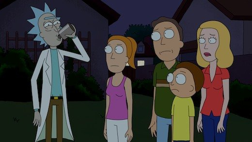 rick and morty - headstuff.org