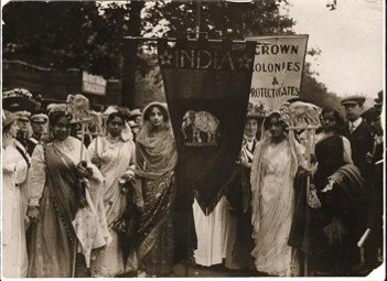 Indian suffragettes - HeadStuff.org