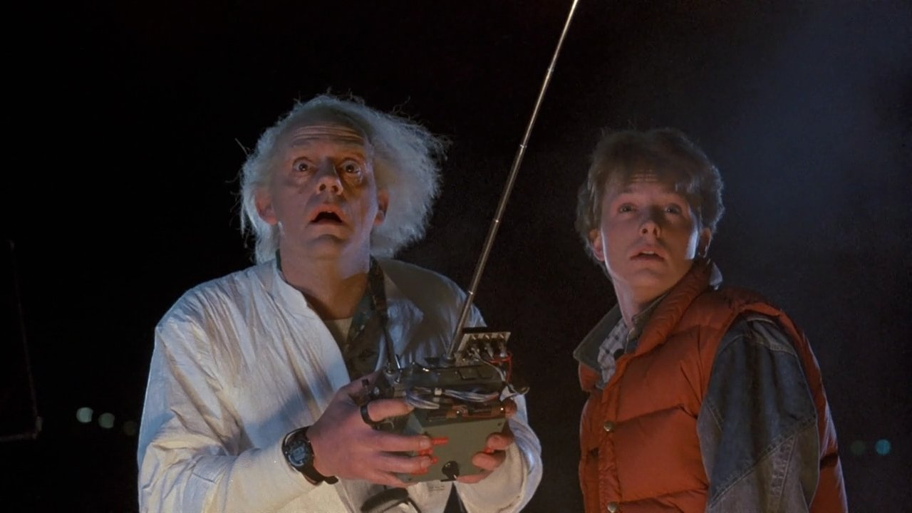 Doc and Marty in Back to the Future - headstuff.org