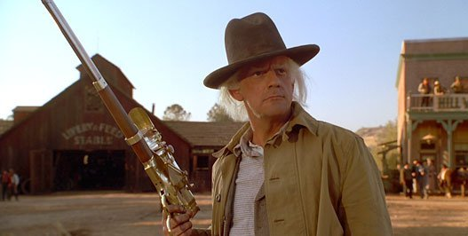 Doc Brown in Back to the Future 3 -HeadStuff.org