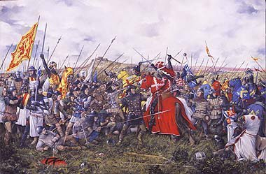 The Battle of Bannockburn by Brian Palmer. - headstuff.org