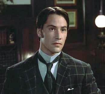 Keanu Reeves in Bram Stoker's Dracula - HeadStuff.org