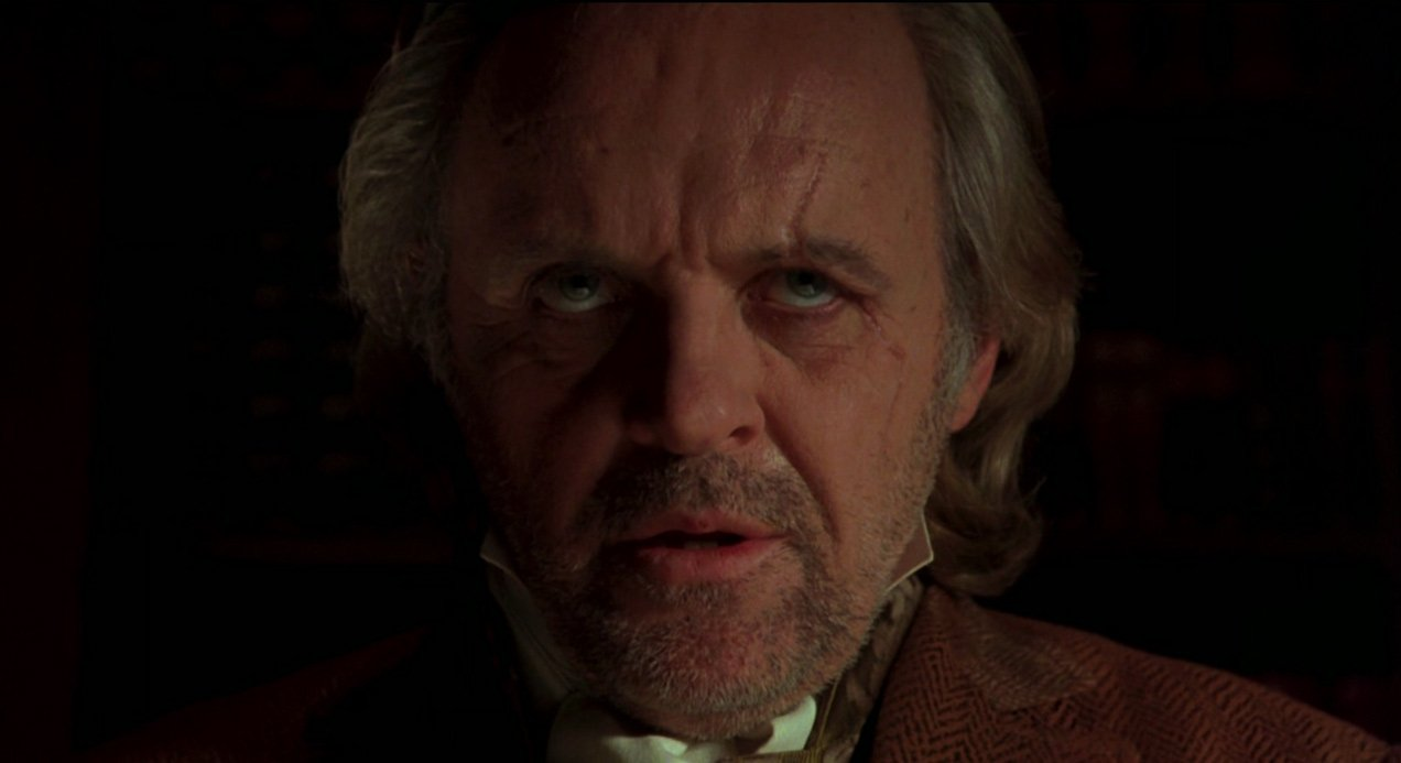 Anthony Hopkins as Van Helsing in Bram Stoker's Dracula - HeadStuff.org