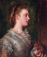 Dorothy Tennant, painted by George Frederick Watts. - headstuff.org