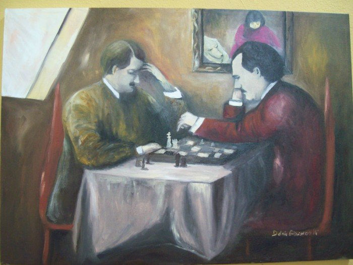 Chess games in literature and books to symbolize life death winning losing - HeadStuff.org