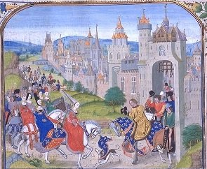Isabella in a 15th century manuscript - headstuff.org