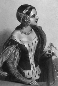 Isabella. 19th century engraving by John William Wright - headstuff.org
