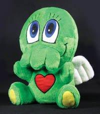 Plush Cthulhu doll - headstuff.org