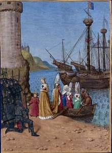 The Return of Isabella of France to England, by Jean Foquey - headstuff.org