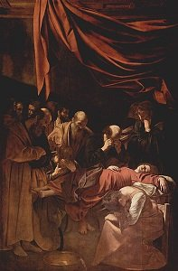 The Death of the Virgin by Caravaggio - headstuff.org