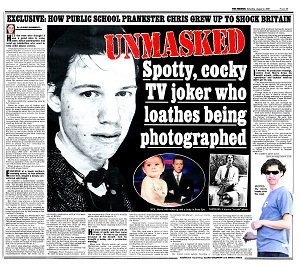 Story on Chris Morris from the Daily Mirror - headstuff.org