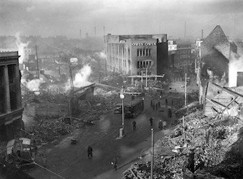 22,000 people died when German bombers hit Coventry in WW2
