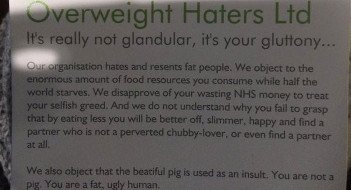 Overweight Haters Ltd - HeadStuff.org