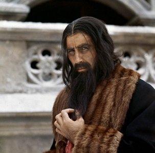 Christopher Lee as Rasputin - headstuff.org