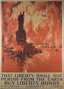 A poster for Liberty Bonds - headstuff.org