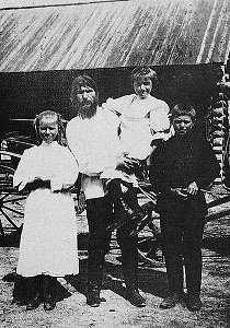 Rasputin and his children - headstuff.org
