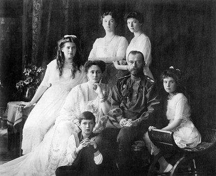 Tsar Nicholas II and his family - headstuff.org