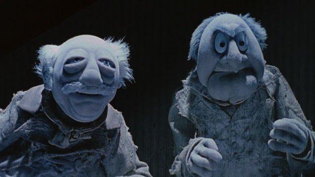 waldorf and statler as jacob and robert marley headstufforg - Muppet Christmas Carol Songs