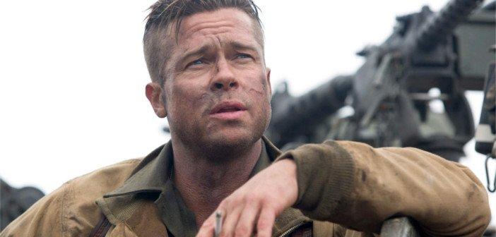 Brad Pitt Fury - HeadStuff.org