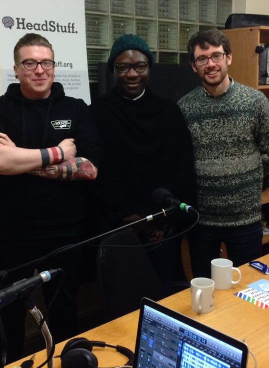 Dave Hanratty, Timi Ogunyemi and Alan Bennett on The HeadStuff Podcast - HeadStuff.org