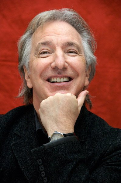 Alan Rickman died aged 69 surrounded by family and friends Source - HeadStuff.org