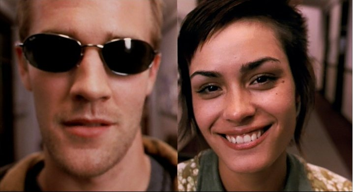 James Van Der Beek and Shannyn Sossamon in The Rules of Attraction - HeadStuff.org