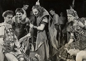 "A scene from a 1952 performance of ""Tamburlaine the Great"" - headstuff.org"