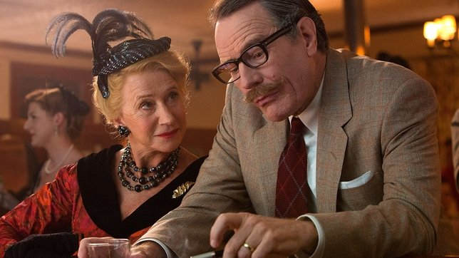 Helen Mirren and Bryan Cranston in Trumbo - HeadStuff.org