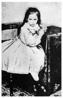 Gertrude Blood as a child - headstuff.org