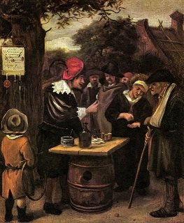 The Quack by Jan Steen - headstuff.org
