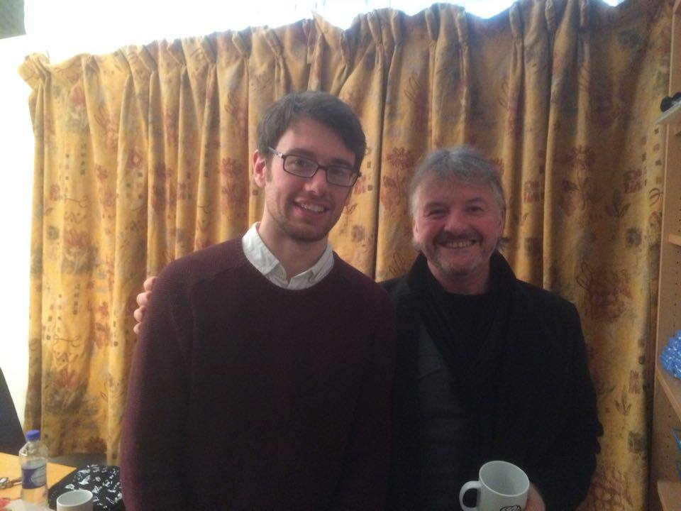 John Connolly on The HeadStuff Podcast, curtains, books, writing, new book - HeadStuff.org
