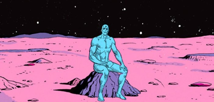 Dr. Manhattan in Alan Moore's Watchmen - HeadStuff.org