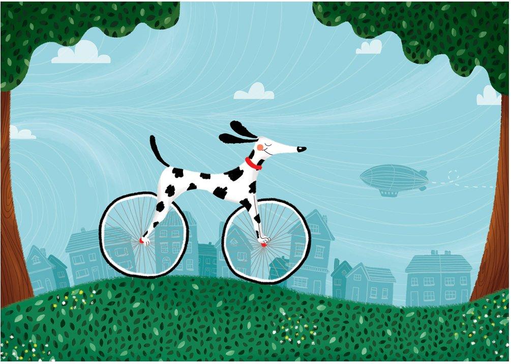 Bike Dog Tarsila Kruse - headstuff.org
