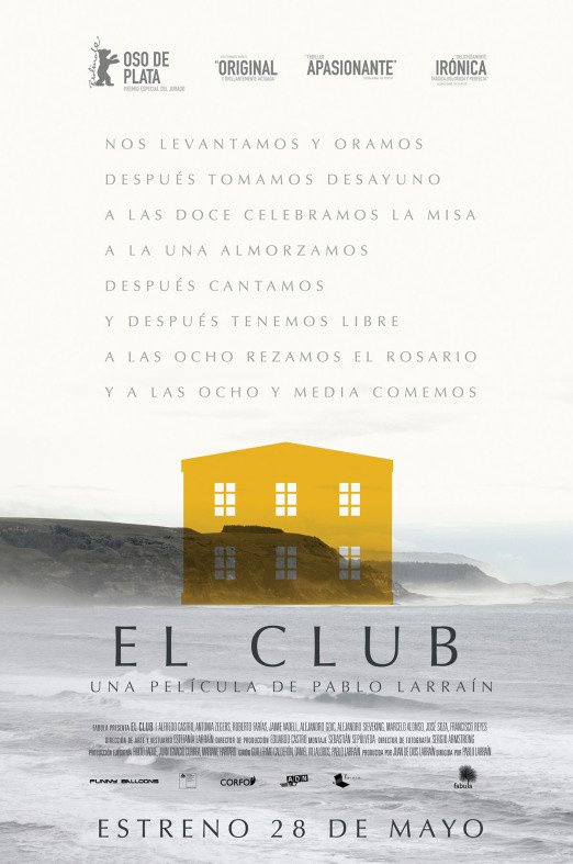 El Club is in the IFI from Friday March 25th - HeadStuff.org