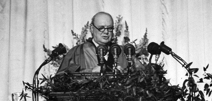 Churchill Iron Curtain - HeadStuff.org
